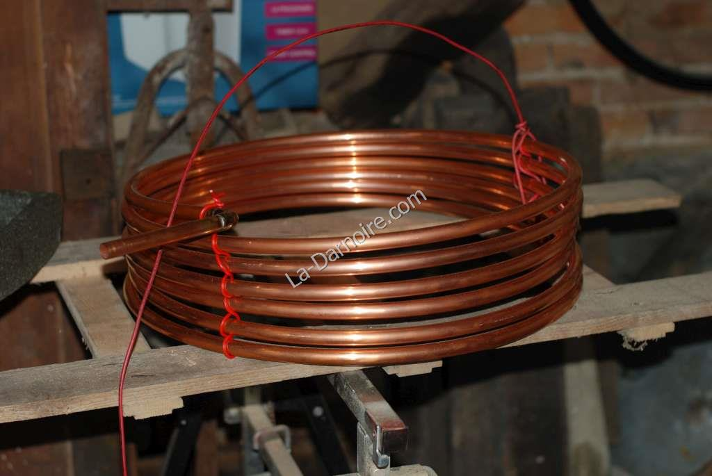 Separation and support of individual copper coils