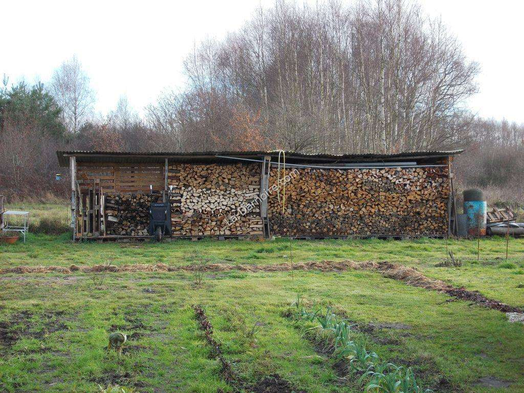 The extended pallet wood shed