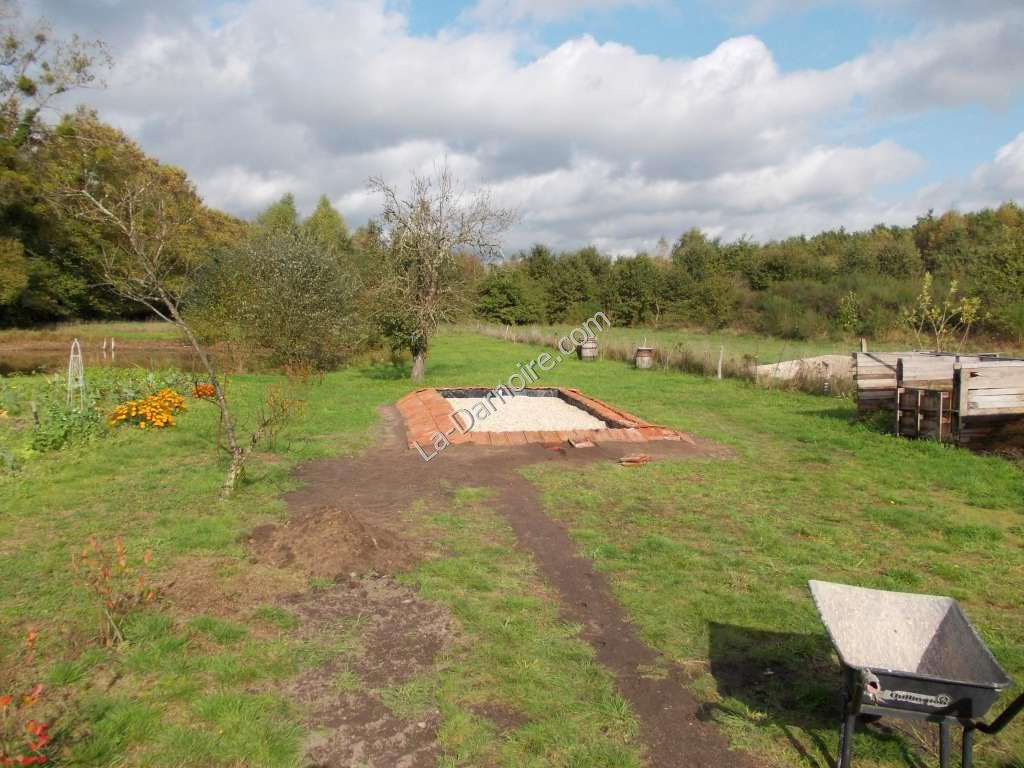 The completed reedbed!