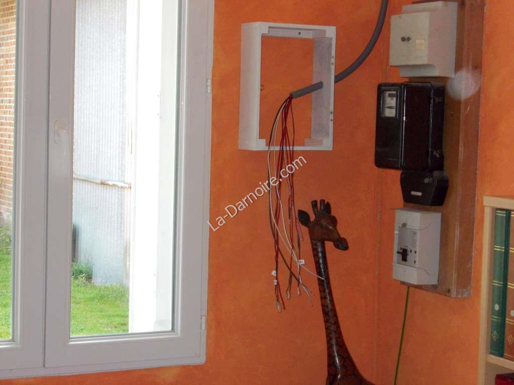 Control panel frame